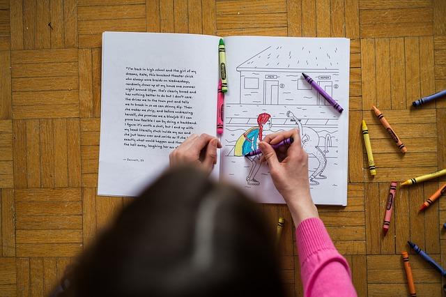 Drawing book for kids